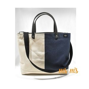 NWT JACK SPADE CANVAS CROSS BODY BAG TOTE